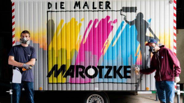 Marotzke Malereibetrieb GmbH: Erster Bauwagen 2017